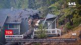 Новини світу: в Неваді величезна сосна впала на будинок і практично розрізала його навпіл