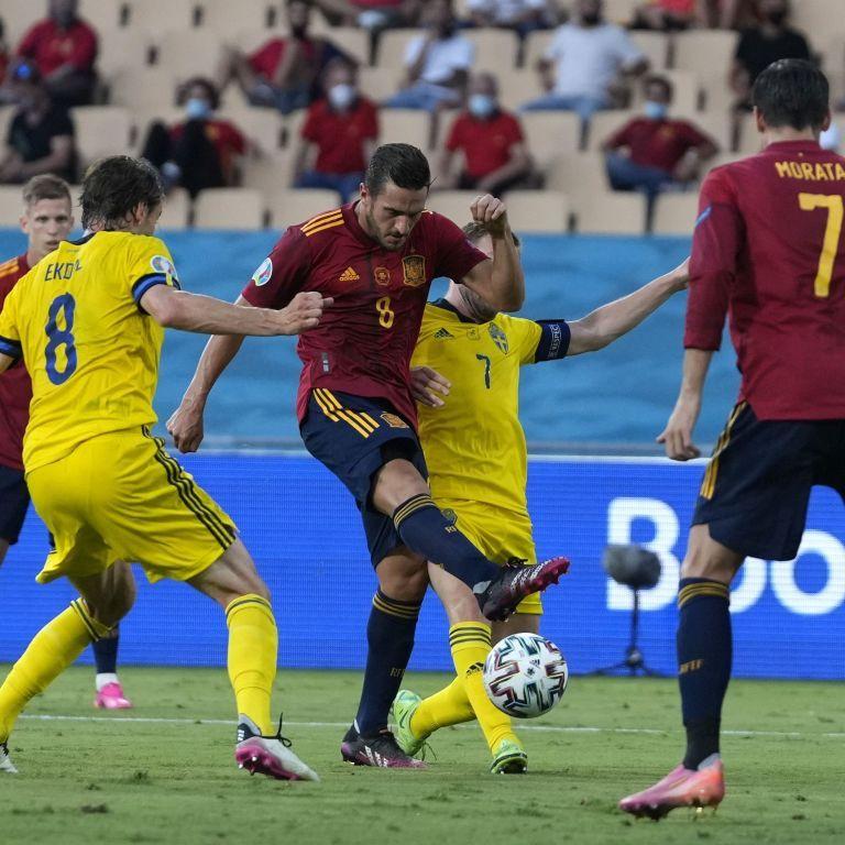 Игра нереализованных возможностей: сборные Испании и Швеции поделили очки в матче Евро-2020