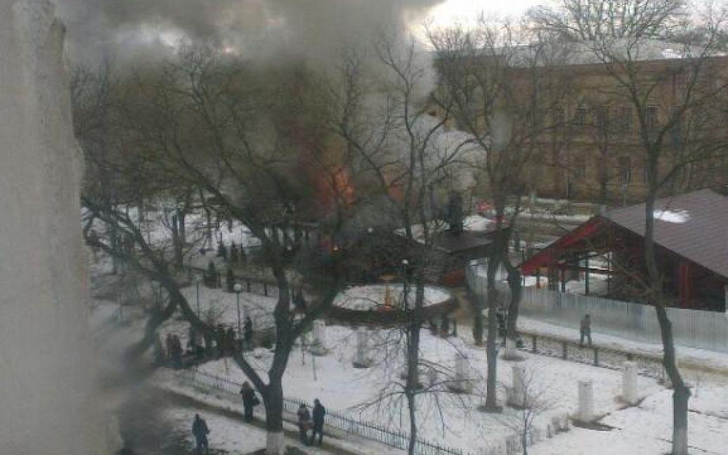 В Ізмаїлі вибухнув бар / © facepla.net