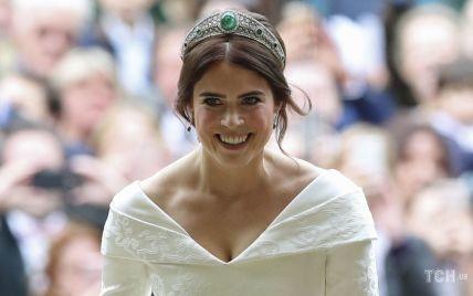 На честь річниці: принцеса Євгенія поділилася неопублікованим раніше фото з весілля