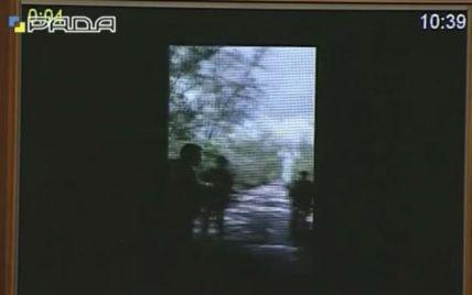 В Раде показали видео с телефона арестованного спецназовца ГРУ