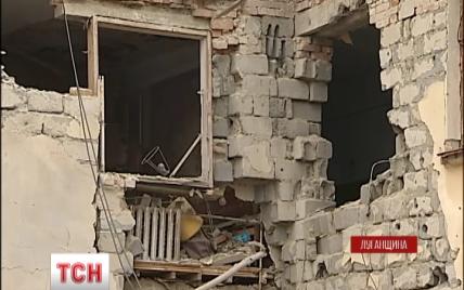 """Перед дводенним перемир'ям бойовики """"поливали"""" Луганщину з важкої зброї"""