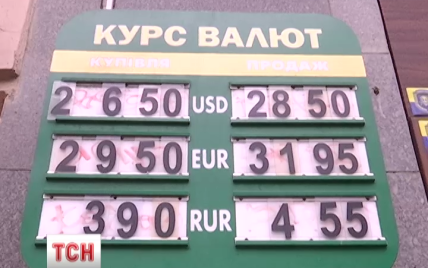 Україні передрікають 40-відсоткову інфляцію через подорожчання долара