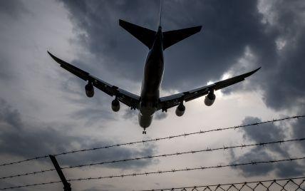 Украина закрывает свое воздушное пространство для белорусских самолетов