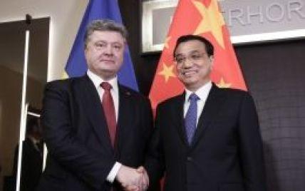 Порошенко домовився із Китаєм про посилення контактів поміж країнами