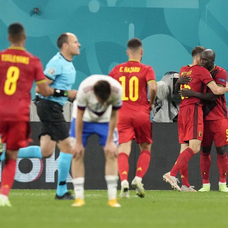 Збірна Росії зганьбилася в матчі з бельгійцями на Чемпіонаті Європи з футболу