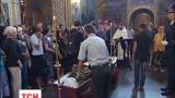 С погибшим в зоне АТО Денисом Денисюком попрощались накануне в Киеве