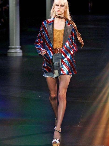 КоллекцияSaint Laurent прет-а-порте сезона весна-лето 2015 / © East News