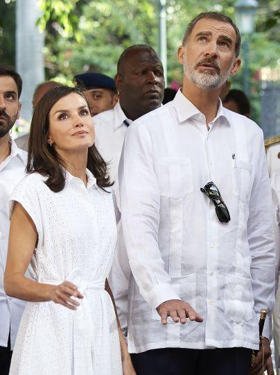 Королева Летиція і король Філіп VI / © Getty Images