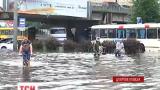 Сильный ливень затопил Днепропетровск