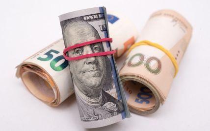 Долар подорожчає, а євро подешевшає у курсах валют від НБУ на п'ятницю і вихідні