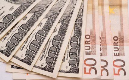 Курс долара і євро на 2 серпня