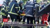 Новости Украины: в Одессе косарь газонов попал под трамвай - обошелся переломами ног
