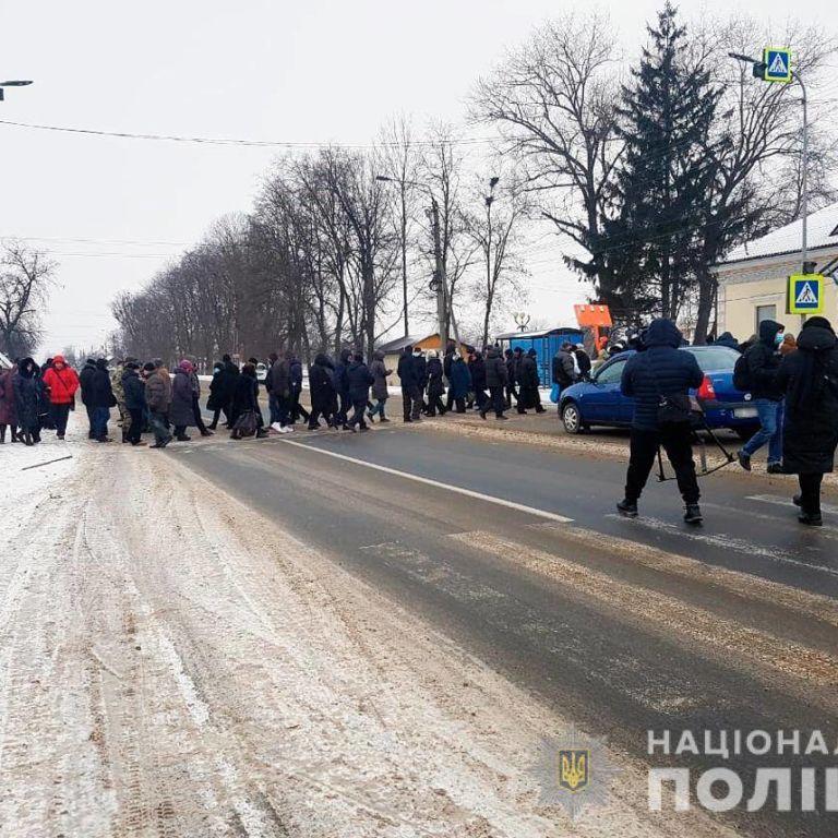 Перекрыли дороги: на Буковине протестуют против повышения цен на коммунальные услуги