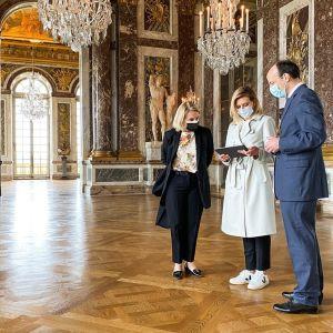 Перша леді в ексклюзивному інтерв'ю розповіла про українськомовні аудіогіди в музеях світу