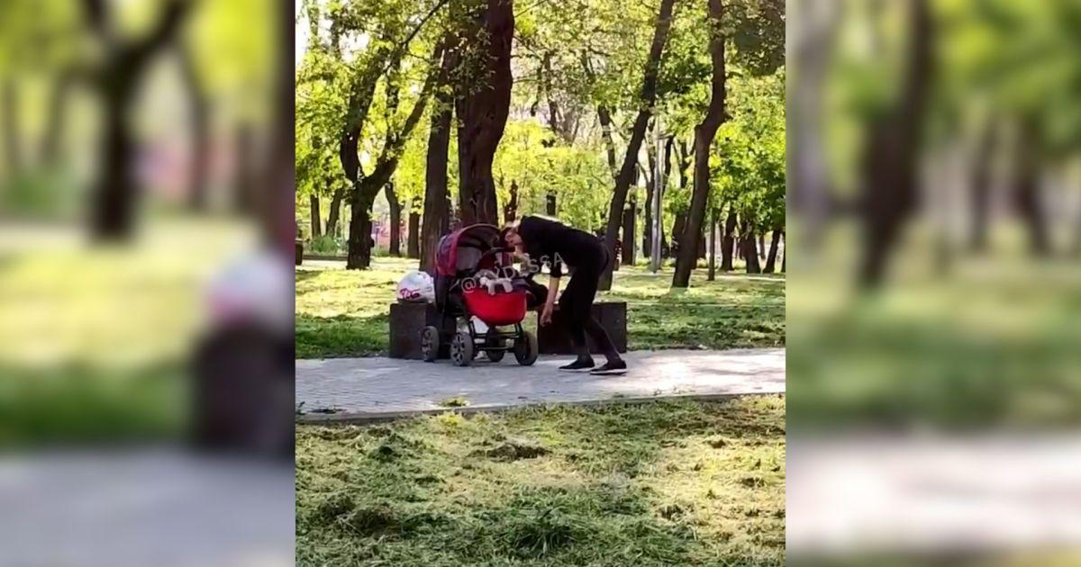 В Одессе женщина под кайфом выгуливала ребенка