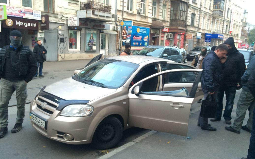 В Киеве СБУ задержала авто с луганскими номерами / © Фото Валерии Ковалинской/ТСН