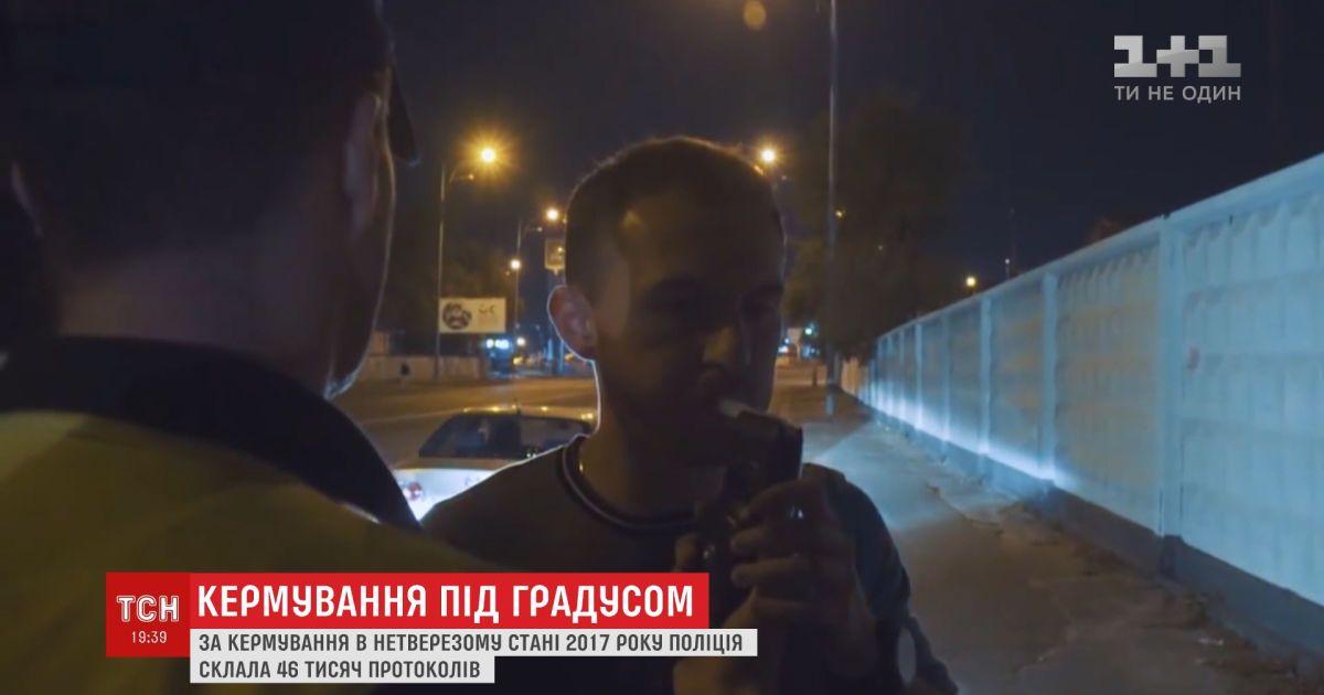В Украине планируют ввести уголовную ответственность за вождение в нетрезвом состоянии