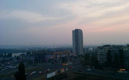 Киевлян призвали закрыть окна из-за пожара торфяников
