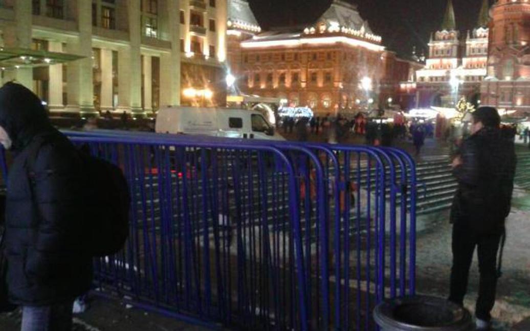 Акція на підтримку Навального має відбутися у вівторок / © twitter.com/ElenaMikhailova