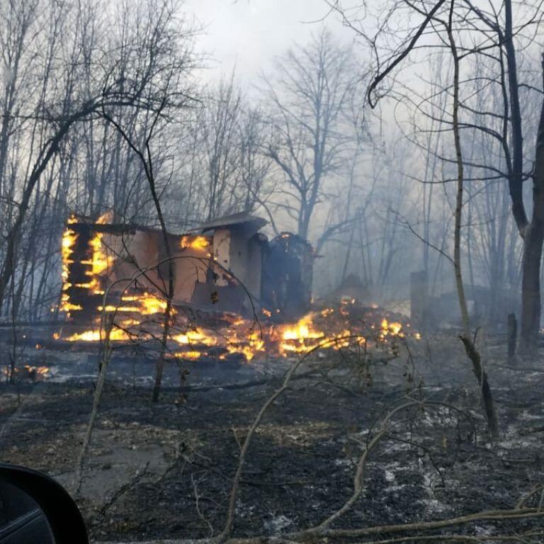 Дощ допоміг взяти під контроль пожежу в Чорнобильській зоні: осередки поблизу Прип'яті загасили