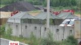 Пожар на нефтебазе под Васильковом полностью потушили