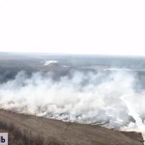 В Полтавской области из-за сжигания сухостоя погибла 72-летняя женщина
