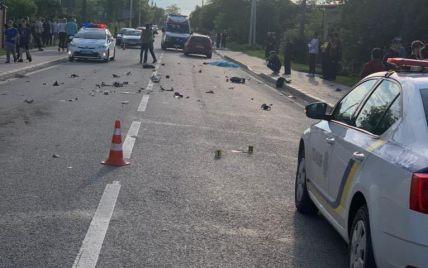 Авто на большой скорости сбило насмерть 13-летнего скутериста, его подбросило в воздухе - видео момента ДТП