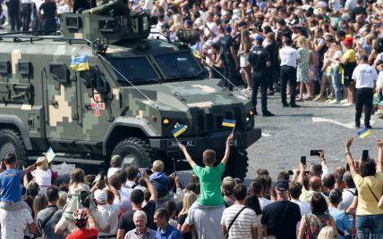 Марш захисників, авіація у небі і парад на Майдані: як Україна святкувала 30-річчя Незалежності
