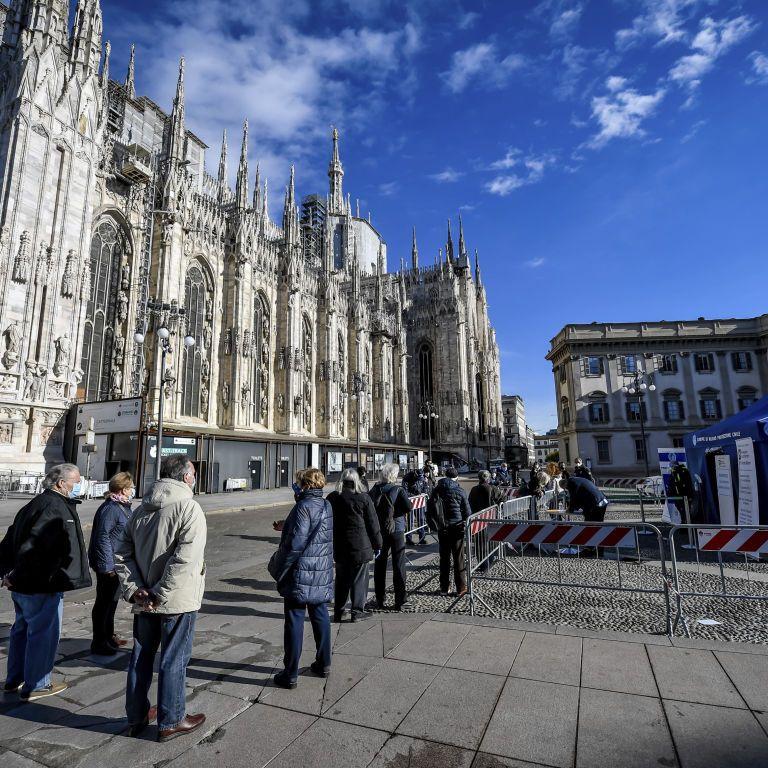 """Италия усиливает карантин на фоне третьей волны: на Пасху вся страна окажется в """"красной"""" зоне"""