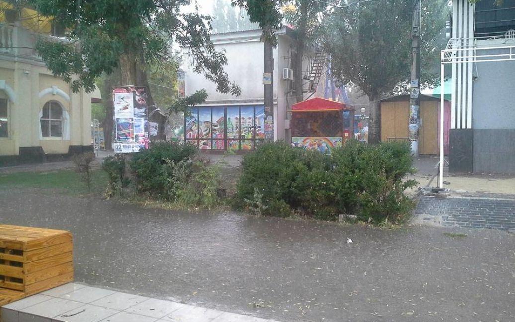 Негода в Скадовську на Херсонщині / © Олександр Власов / Facebook