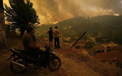 Руйнівні пожежі в Греції: чи є серед українців постраждалі внаслідок стихії
