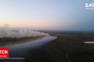 Новини України: поблизу Євпаторії горить сміттєвий полігон