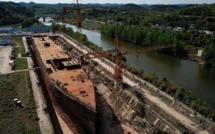В Китае заканчивают строительство копии Титаника (фото, видео)