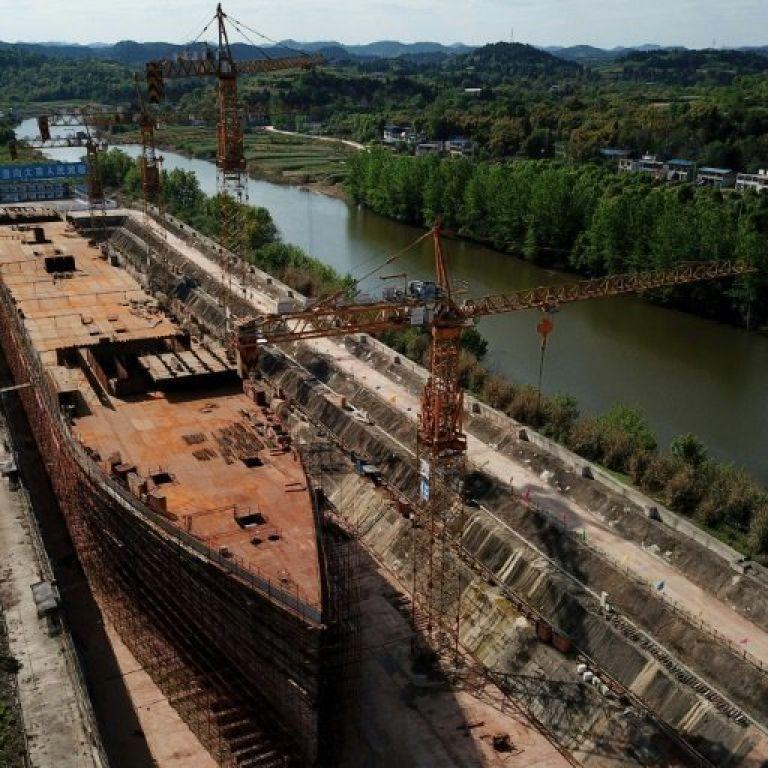 У Китаї закінчують будівництво копії Титаніка (фото, відео)