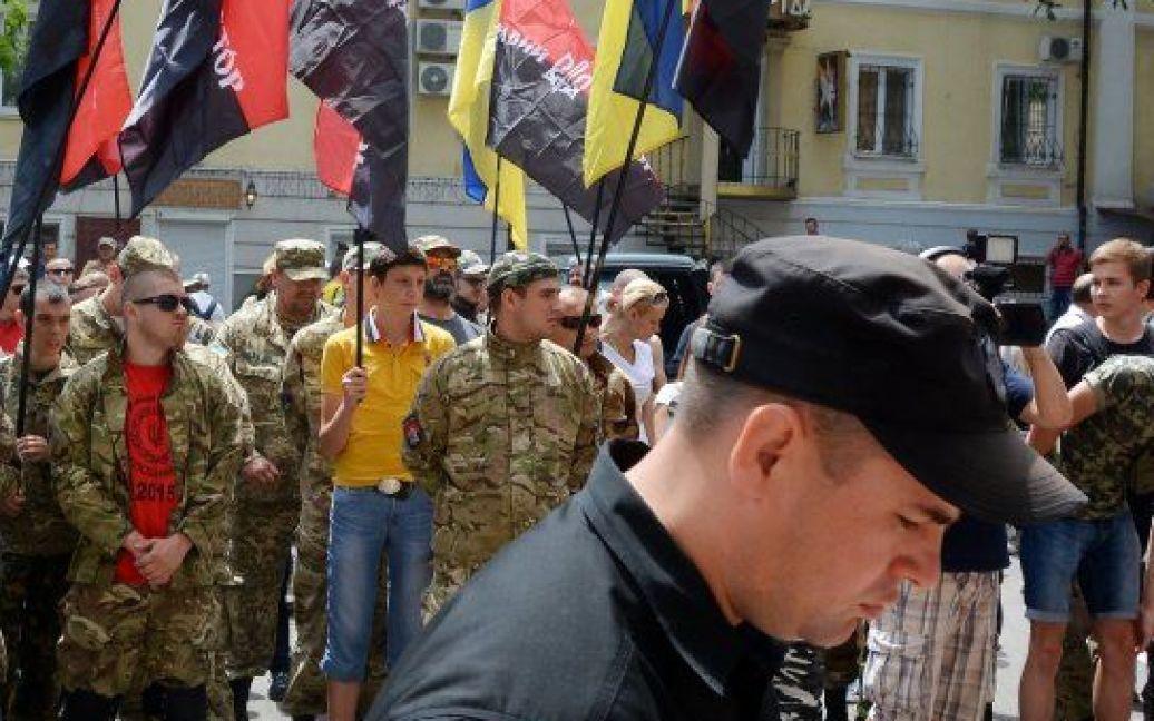 """Протест """"Правого сектора"""" в Одессе. / © УНИАН"""