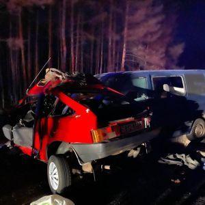 У Луганській області внаслідок ДТП авто перетворилося на купу металу - загинув поліцейський