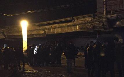 Кличко звинуватив МАФи у частковому обвалі Шулявського шляхопроводу