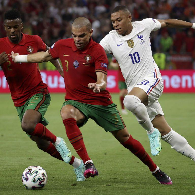 Три пенальті і два дублі: Франція і Португалія в бойовому матчі Євро-2020 не виявили переможця