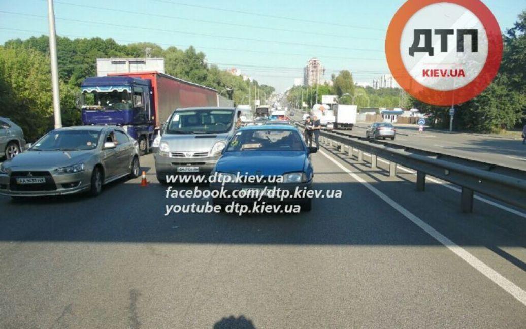 Пострадавший попал в реанимацию / © dtp.kiev.ua