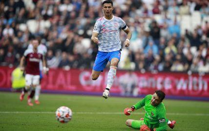 """Вольова перемога з голом Кріштіану: """"Вест Гем"""" з Ярмоленком не зміг зупинити """"Манчестер Юнайтед"""" з Роналду в АПЛ"""