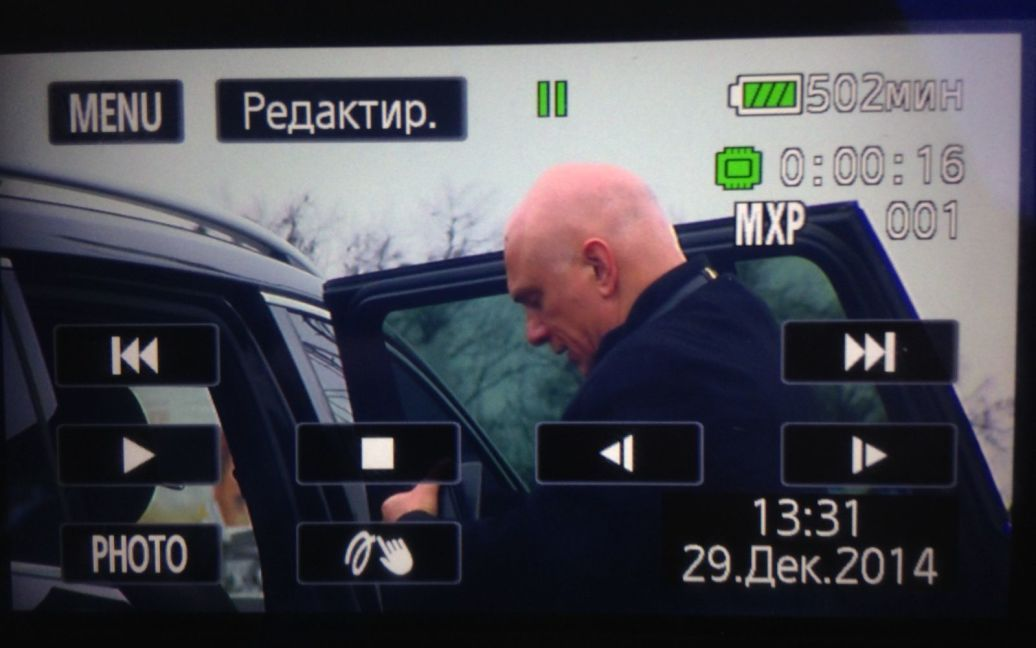 Батько Євгенії Олександр Тимошенко / © ТСН.ua