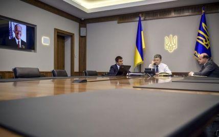 Порошенко и Байден обсудили предоставление США помощи для укрепления украинской армии