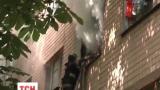 Одесские пожарные спасли 25 человек из горящего здания общежития