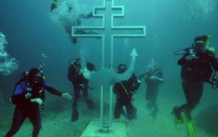 В Крыму строят первый в мире подводный православный храм