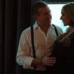 У Мережі з'явилося відео із вагітною Осадчою та щасливим Горбуновим