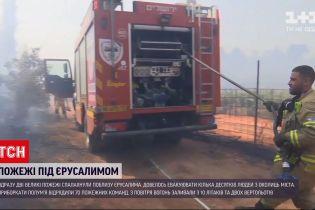 Новини світу: поблизу Єрусалима спалахнули дві великі пожежі