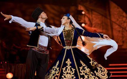 """Танці з зірками"": Джамала станцювала кримськотатарський танець та заспівала ""1944"""