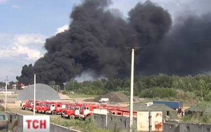 На нефтебазе под Васильковом нашли тело еще одного погибшего в пожаре