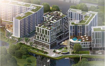 ЖК Ривьера: уютный жилой комплекс с пляжем посреди огромного мегаполиса